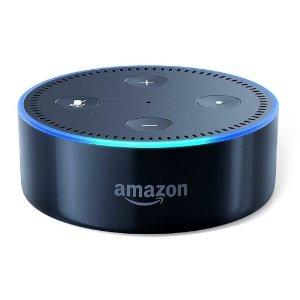 $29.99 (原价$49.99) 好价回归Amazon Echo Dot Alexa语音助手蓝牙音箱 2代