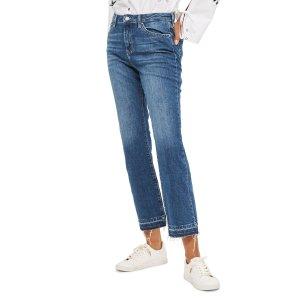 Topshop Dree Released Hem Flare Jeans