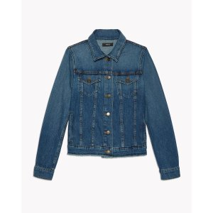 RAW-EDGE DENIM JACKET