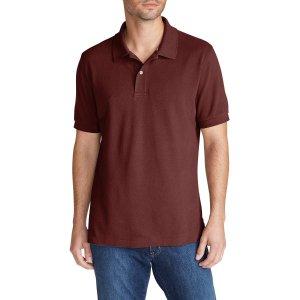 Men's Field Short-sleeve Polo Shirt   Eddie Bauer
