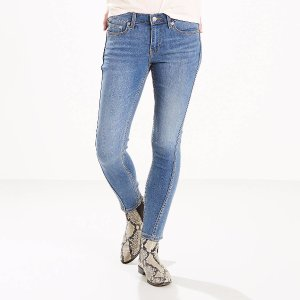 711 Twisted Seam Skinny Jeans | Rock my World |Levi's® United States (US)