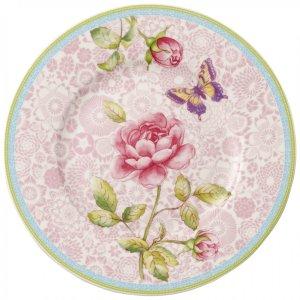 Rose Cottage Salad Plate : Pink 8.5 in - Villeroy & Boch