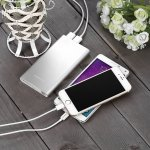 Poweradd Pilot 2GS 10,000mAh Power Bank (Lightning Cable Included)