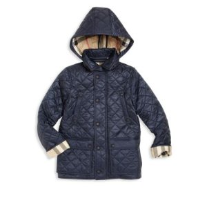 Little Boy's & Boy's Charlie Quilted Jacket