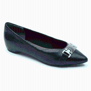 Total Motion Hidden Wedge Buckle Flat - Rockport