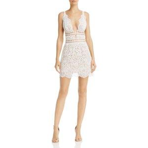 For Love & Lemons Mon Cheri Mini Dress - 100% Exclusive | Bloomingdale's
