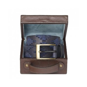 Pampeano Marino Polo Belt with Luggage Trunk Gift Box - Accessories | Unineed | Premium Beauty & Fashion