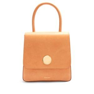 Posternak top-handle leather bag | Mansur Gavrie