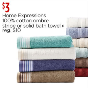 Bath Towels & Hand Towels - JCPenney