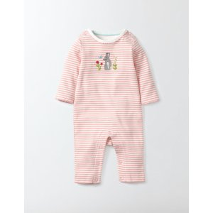 Bunny Appliqué Romper 70088 Rompers at Boden