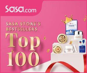 Top 100Bestsellers @ Sasa.com