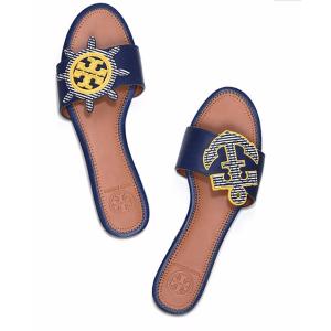 Tory Burch Maritime Mismatched Slide : Women's Sandals | Tory Burch