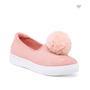 Slip On Pom Pom Sneakers