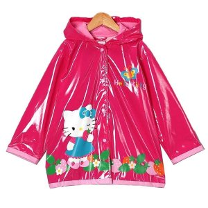 Sanrio Hello Kitty Girls Pink Raincoat - Free Shipping On Orders Over $45 - Overstock.com - 19042631