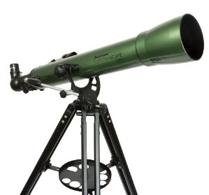 $74.99(原价$129.99)Deals Spotlight: Celestron Explorascope 70AZ 天文望远镜