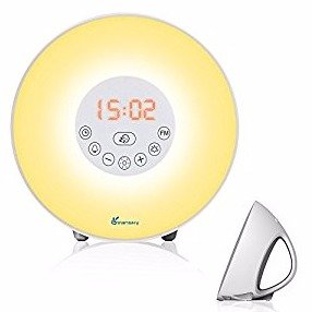 $23.99Vansky Updated Edition Sunrise Alarm Clock Night Light Bedside Lamp