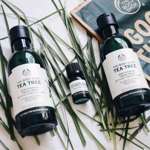40% Off + Free ShippingTea Tree Collection @ The Body Shop