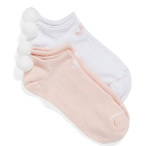 adidas Original 2-Pack No-Show Pom Socks