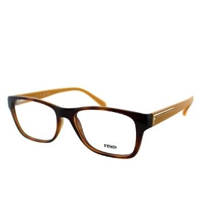 FENDI Rectangle Plastic Eyeglasses