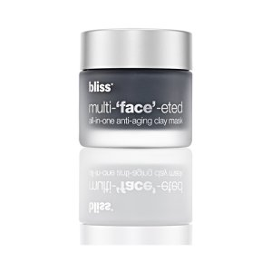 bliss multi-face-eted all-in-one anti-aging clay mask| bliss Products