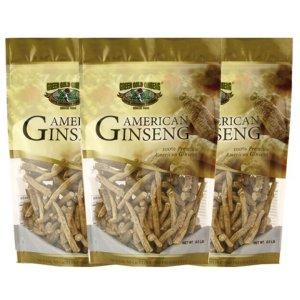 American Ginseng Prong Medium 8oz bag x 3