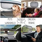 EveShine Car Sun Shade for Side and Rear Window - (4 Pack ) - Extra Large 20