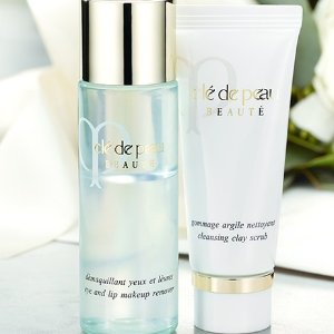 Complimentary Travel Size SampleWith Purchase of Their Full-Size Companion @ Cle de Peau Beaute