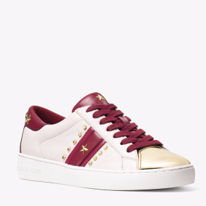 Frankie Studded Leather Sneaker