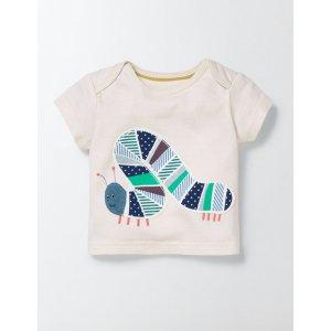 Big Appliqué T-Shirt 71593 Tops & T-Shirts at Boden
