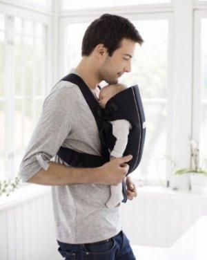 $43.99(原价$79.95)BABYBJORN 全棉婴儿背带