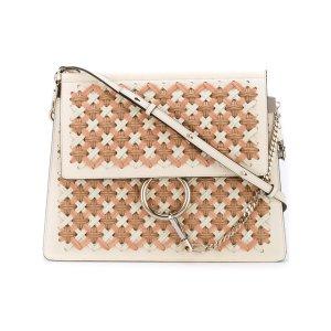 Chloé Faye Shoulder Woven Shoulder Bag