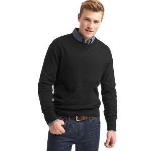 Cotton crewneck sweater | Gap