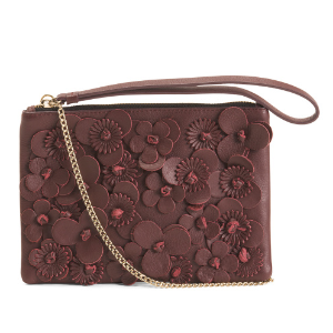 Made In Italy 3d Leather Pouch