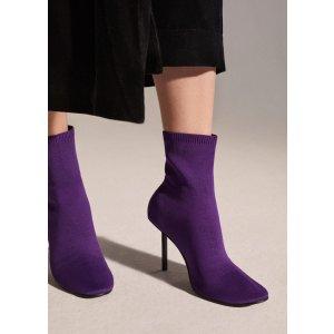 Heel sock boots - Women | MANGO USA