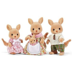 Calico Critters Hopper Kangaroo Family Toy Set | zulily