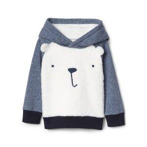 Cozy polar bear hoodie