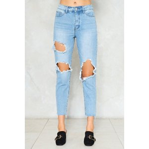 Hole Lotta Love Distressed Jeans | Shop Clothes at Nasty Gal!