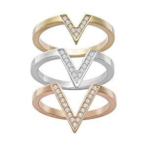 Delta Ring - Jewelry - Swarovski Online Shop