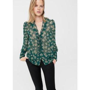 Floral print blouse - Women