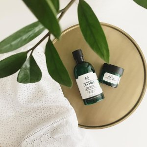 Buy 3 Get 3 or Buy 2 Get 1Tea Tree Collection @ The Body Shop