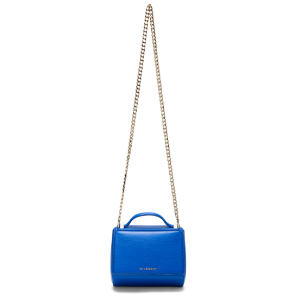 Givenchy Mini Chain Pandora Box in Indigo Blue |