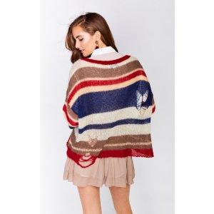 Academy Stripes Sweater - Wildfox