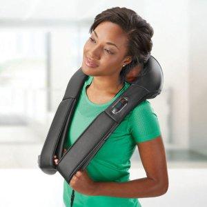 Shiatsu Neck and Back Massager with Heat & Automated Programs