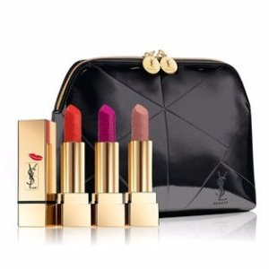 Back in stock! $74ROUGE PUR COUTURE KISS & LOVE COLLECTOR'S TRIO SET @ YSL Beauty