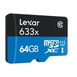 Lexar 64GB High-Performance 633x microSDXC 存储卡