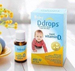 $14.72Ddrops婴儿维生素D3滴剂 400IU 90滴