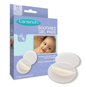 Lansinoh Soothies Gel Pads for Breastfeeding Mothers, 2 Count