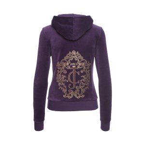 ORNATE JC LOGO VLR ORIG JACKET - Juicy Couture