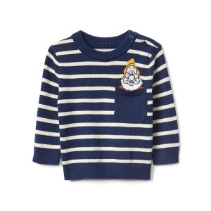 babyGap | Disney Baby Snow White and the Seven Dwarfs stripe sweater