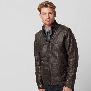 Timberland | Men's Mount Major Leather Jacket